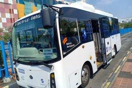 Di Jakarta, Uji coba bus listrik dilakukan secara ketat