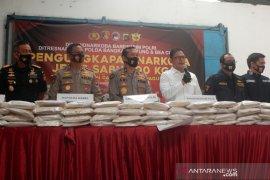 Polisi sita sabu 200 kg dalam karung jagung asal Myanmar