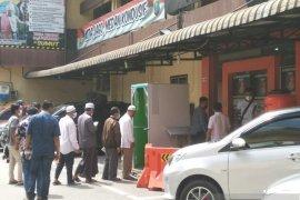 Sarpan, korban penganiayaan oknum polisi jalani pemeriksaan perdana di Polrestabes Medan
