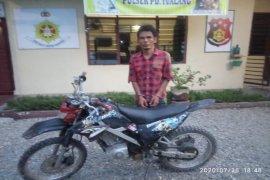 Polsek Padang Tualang Langkat amankan pelaku pencurian sepeda motor
