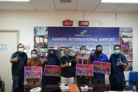 AP I Bandara Juanda salurkan pinjaman kemitraan Rp310 juta kepada UMKM