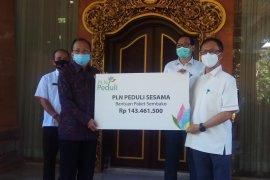 PLN Bali berikan paket sembako ke masyarakat terdampak COVID-19