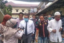 Sarpan dicecar delapan pertanyaan saat diperiksa penyidik Polrestabes Medan