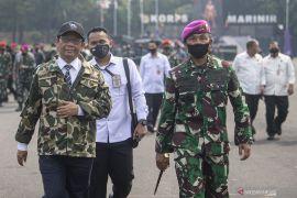 Mahfud MD: TNI perlu dilibatkan dalam tangani terorisme