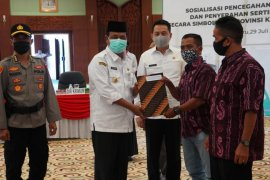 Governor supports efforts to prevent land mafia in S Kalimantan
