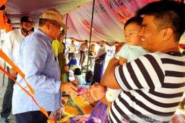 7.070 jiwa warga Aceh Barat masih terdampak banjir, mengungsi di lima lokasi