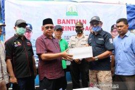 Tiga daerah dilanda banjir terima bantuan dari Pemprov Aceh