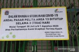 Pasar pelita di Jakarta Utara ditutup selama tiga hari
