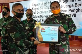 Danrem 064/MY berikan penghargaan kepada Kodim terbaik pelayanan KB