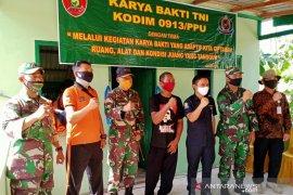 Program bedah rumah Kodim 0913 Penajam pererat hubungan TNI dan Rakyat