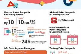 Telkomsel perluas inisiatif paket ilmupedia untuk kemudahan belajar online