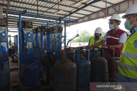 Pertamina - Pemprov Babel sidak stok LPG jelang Idul Adha