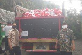 Kecamatan Periuk Kota Tangerang salurkan bansos tahap ketujuh Kemensos