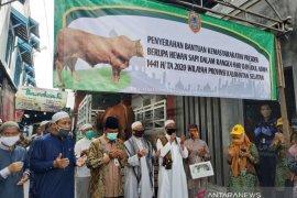 Presiden serahkan sapi limosin seberat 875 untuk Masjid Noor Banjarmasin