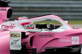 Pebalap F1 Sergio Perez positif COVID-19 dan absen di GP Britania