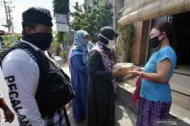 Orang Katolik di batas Indonesia - Malaysia jaga Shalat Idul Adha