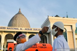 Shalat Idul Adha di Surabaya terapkan  protokol kesehatan secara ketat