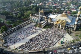Shalat Idul Adha di Masjid Raya Bengkulu terapkan protokol kesehatan
