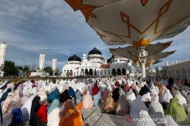 Shalat Idul Adha di Aceh
