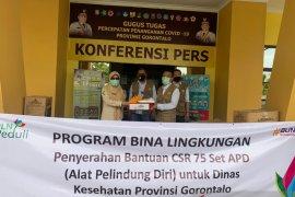 PLN bantu APD tenaga medis COVID-19 di Gorontalo