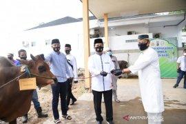 Polda Kalsel bagikan 70 ekor hewan kurban ke masyarakat