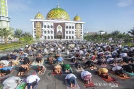 Kemenag: Salat Idul Fitri di lapangan wajib koordinasi dengan Satgas setempat