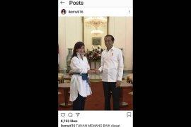 Pemprov DKI surati artis FTV permintaan  hapus foto bareng Jokowi