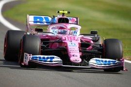 "Stroll bawa ""Pink Mercedes"" puncaki sesi latihan bebas kedua GP Britania"