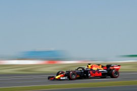 Verstappen tercepat sesi latihan GP Britania, Hulkenberg kembali ke F1