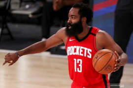James Harden ukir 49 poin, Rockets tundukkan Mavericks 153-149