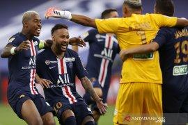 PSG juara Liga Prancis setelah menang adu penalti atas Lyon