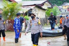 Kompleks asrama polisi di Kota Gorontalo kebanjiran lagi