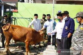 PCNU Bogor libatkan Banser kawal penerapan protokol kesehatan saat penyembelihan hewan kurban