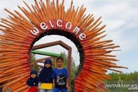 Pengelola Mempawah Mangrove Park wajibkan pengunjung pakai masker