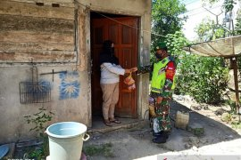 Kodim 0414 Belitung distribusikan daging kurban langsung ke masyarakat