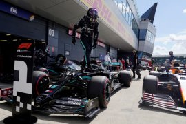 "Hamilton rebut ""pole position"" ketujuh kalinya di Silverstone"