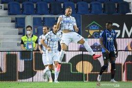 Gulung Atalanta 2-0, Inter amankan peringkat kedua klasemen Liga Italia