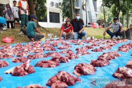 IKIAD Kabupaten Bogor ikut penyembelihan hewan kurban