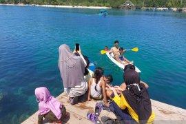 Keindahan wisata Pantai Pengasin Tanjung Putus Pesawaran Lampung