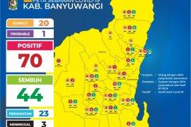 Tambah 12 kasus, warga terpapar COVID-19 di Banyuwangi menjadi 70 orang