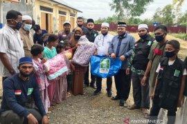 PWNU Aceh serahkan bantuan dan qurban untuk pengungsi Rohingya di Lhokseumawe