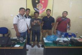 Polsek Binjai tangkap pemilik lima paket sabu-sabu