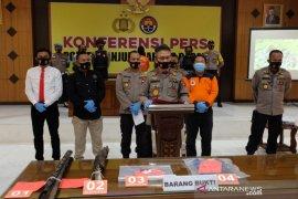 Polisi Tanjab Barat  amankan seorang pelaku pembakaran lahan