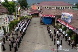 Kapolres Tapanuli Selatan katakan serangan COVID-19 tak kenal pangkat jabatan
