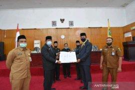 DPRD setujui LKPj Pemkot Padangsidimpuan