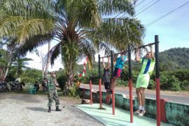 Babinsa lakukan pembinaan fisik bagi calon prajurit TNI AD