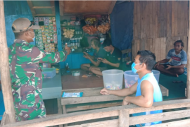 Babinsa Desa Beringin Rayo lanjutkan sosialisasi bahaya narkoba