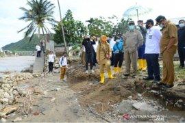 Gubernur Gorontalo minta BWS lakukan perbaikan tanggul Sungai Bone