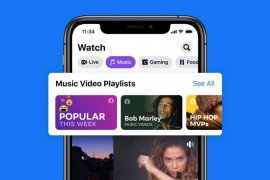 Saingi Youtube, Facebook tambahkan fitur video musik
