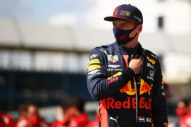 Setelah naik podium empat balapan terakhir, Max  Verstappen siap menebar ancaman di Catalunya